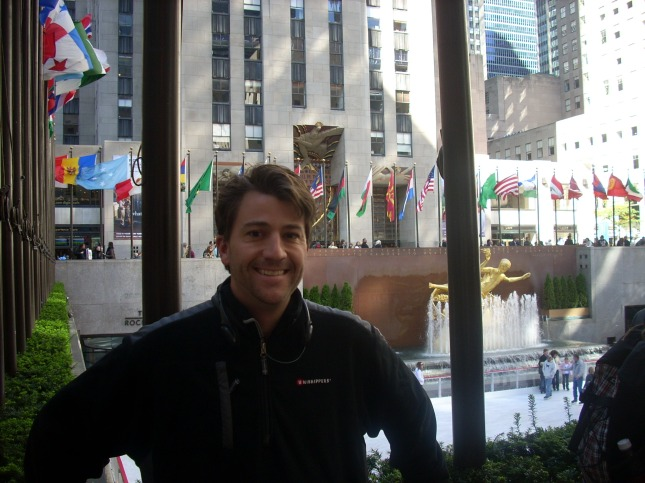 Andrew at Rockefeller Center