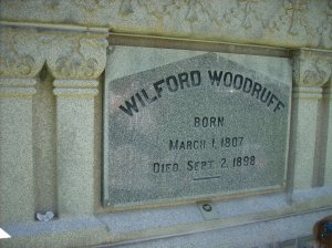 Wilford Woodruff, 4th President of LDS Church